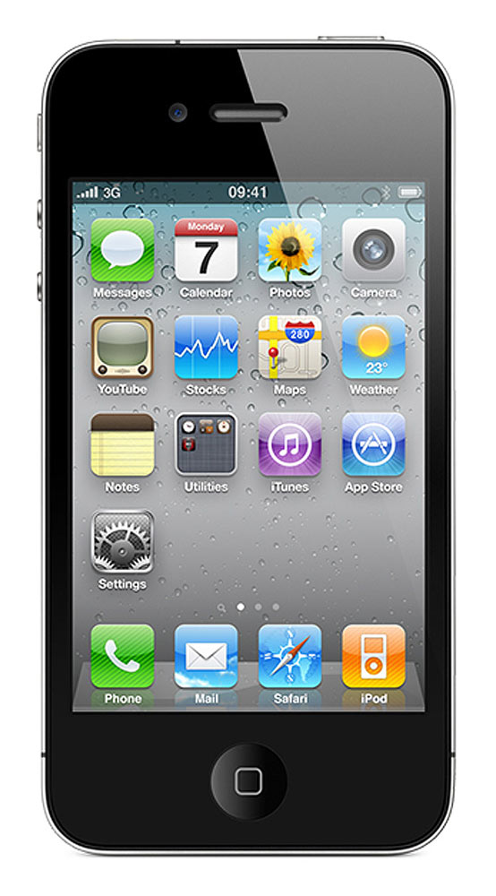 Buy Apple IPhone 4 8GB Black at Rs.23499