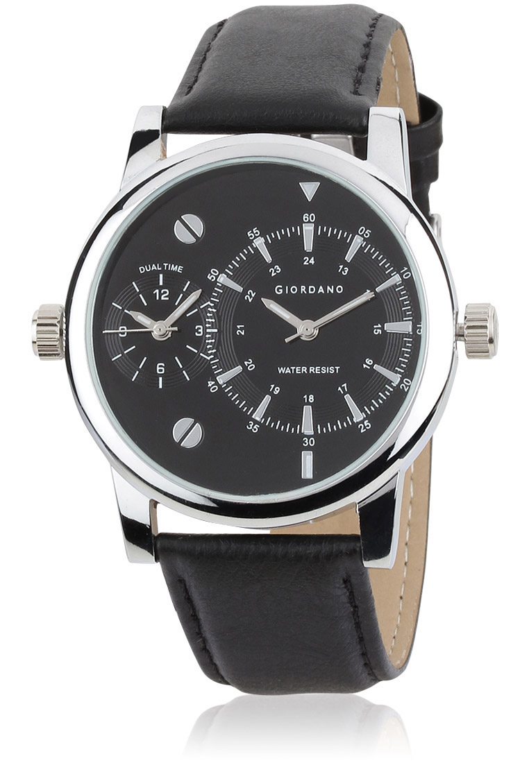 Buy Giordano black Analog wrist watch at Rs.1299