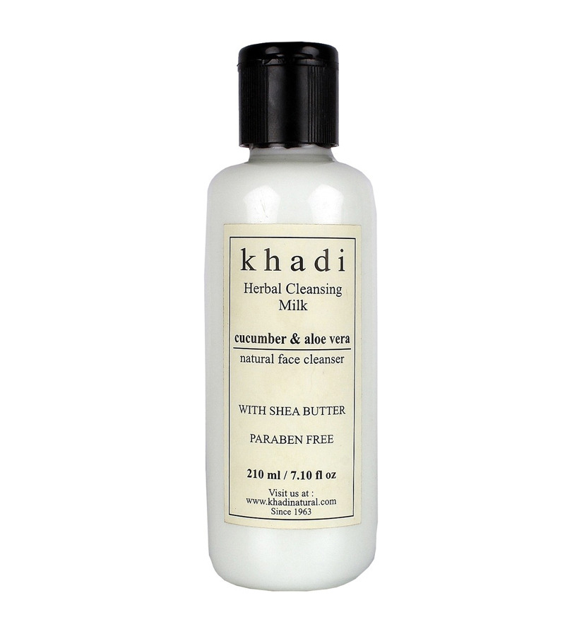 Buy Khadi Cucumber & Aloevera Cleansing Milk face cleaner  at Rs.105