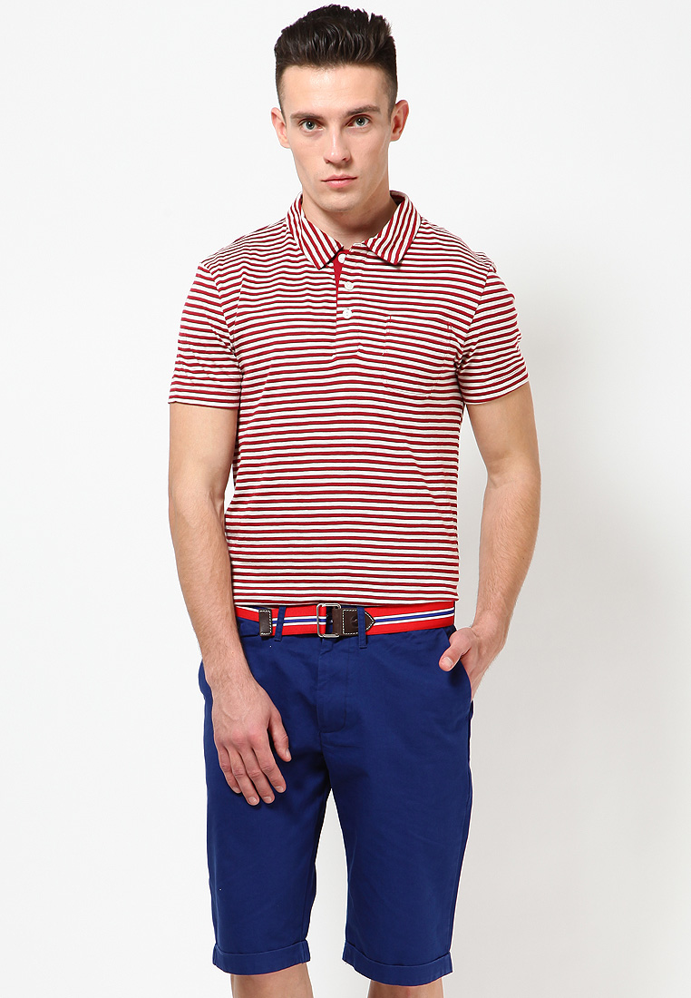 Buy Levi's red tape premium red Polo T Shirts at Rs.1039