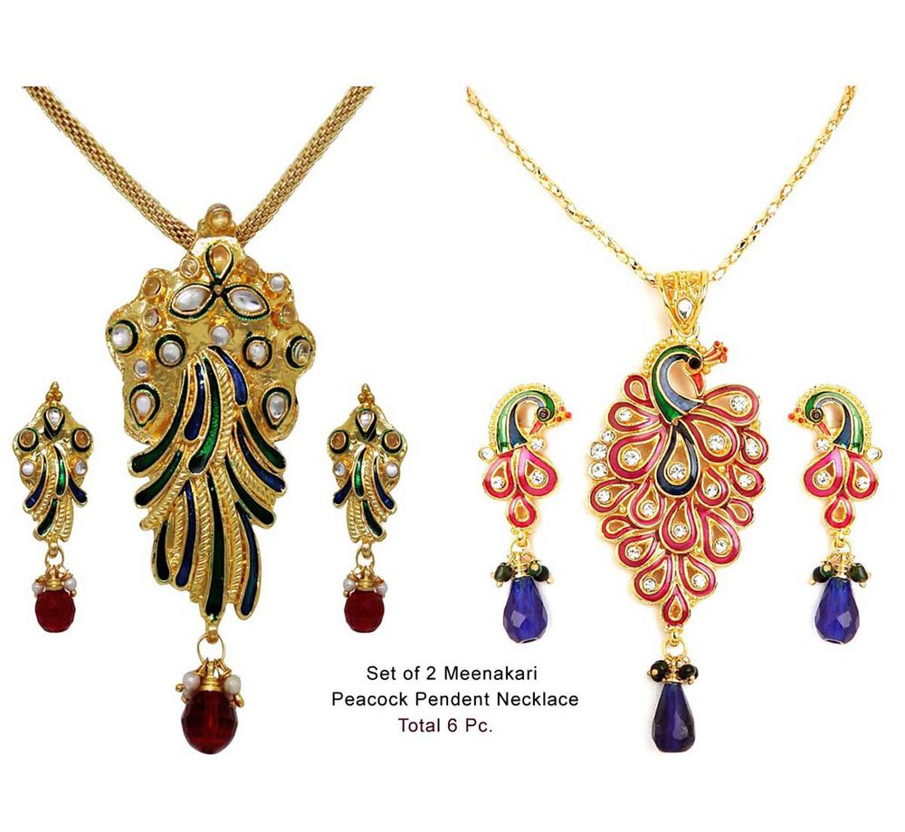 Buy Necklace With Matching Earring at Rs.399
