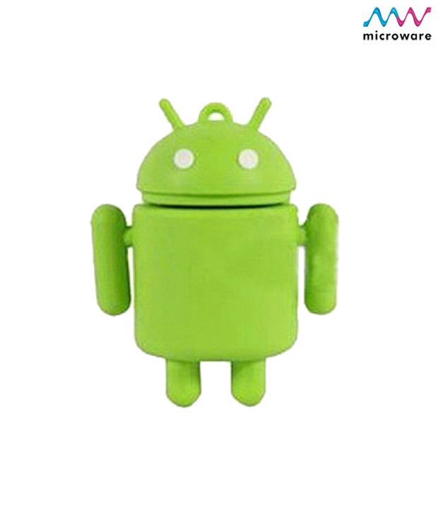 Buy Microware Android Shape 16GB Pen Drive at Rs.798