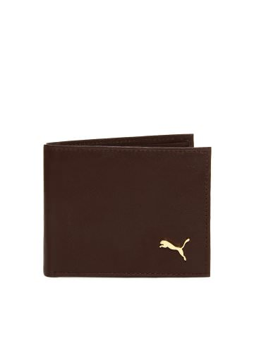 Buy Puma Men Brown Wallet at Rs.1039