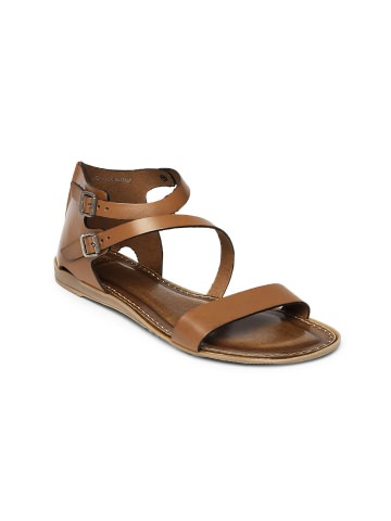 Buy Clarks Women Brown Sandals at Rs.2639
