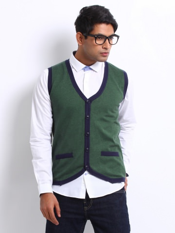 Buy UCB Men Cardigan Sweater at Rs.1619