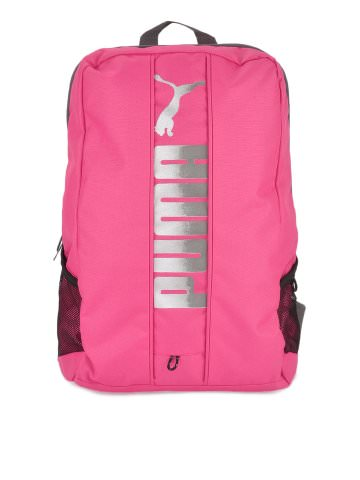 Buy Puma Women Pink Essential Backpack at Rs.749