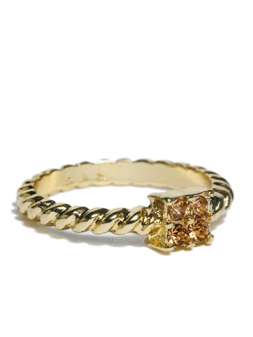 Buy Dressberry Gold Toned Ring at Rs.140