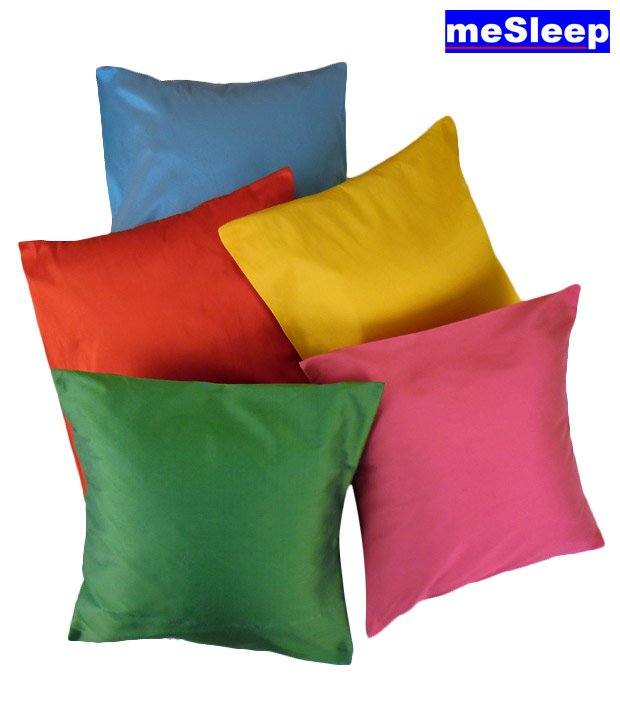 Buy MeSleep Multicolour Cushion Covers at Rs.299