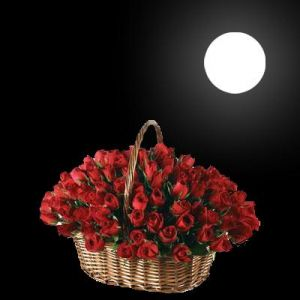 Buy Roses Basket at Rs.2699