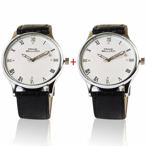 Set of 2 Frank Bellucci Watch at Rs.999
