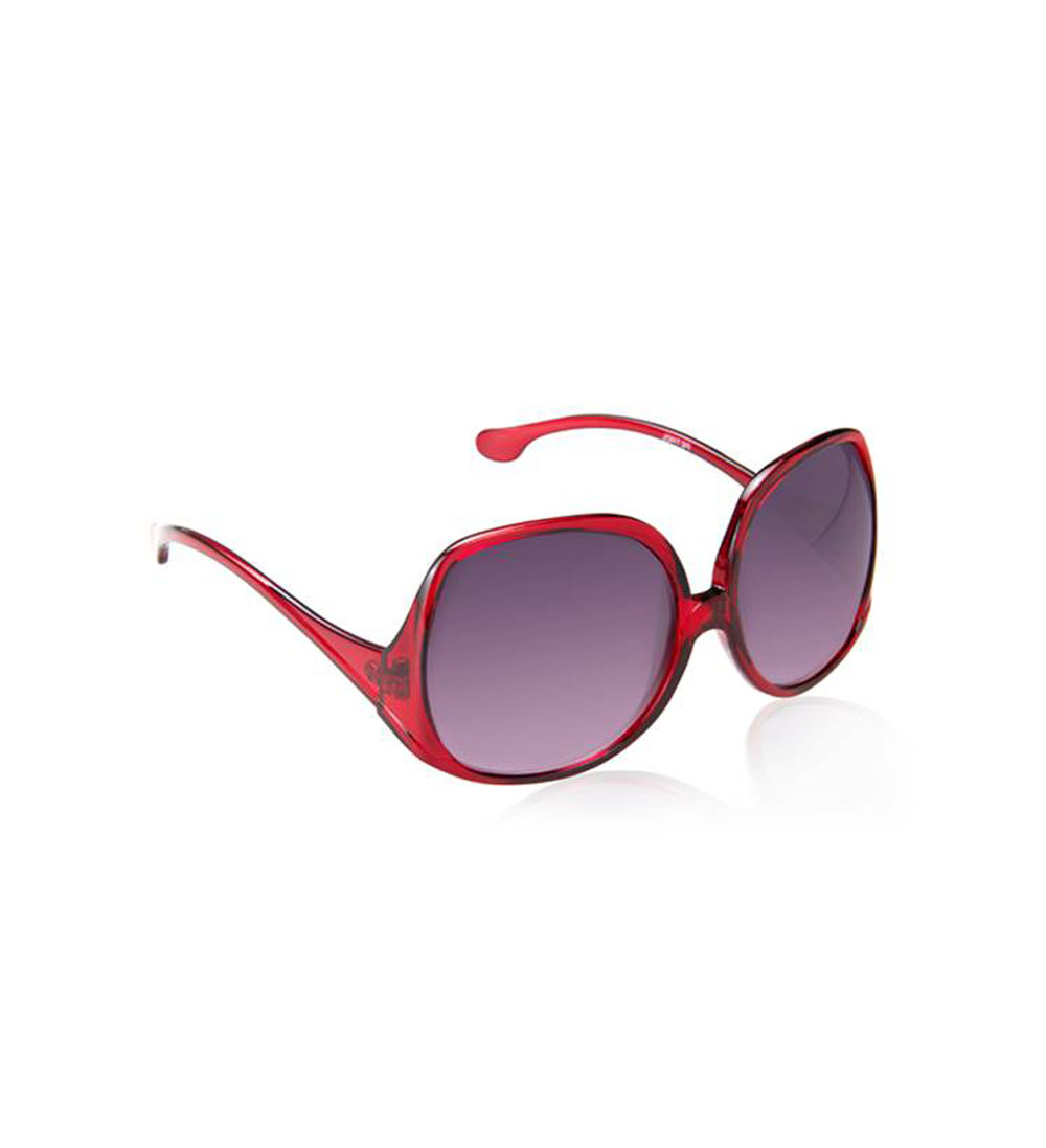 Buy Gradient Red Oversize Sunglasses at Rs.1600