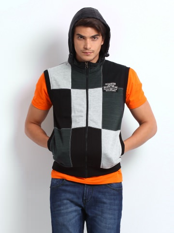 Buy Roadster Men Black Firefly Jacket at Rs.839
