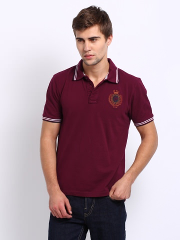 Buy Roadster Men Lancia Polo T-Shirt at Rs.349