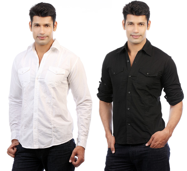 Buy Flip Curve Casual Shirt Combo 5 at Rs.69