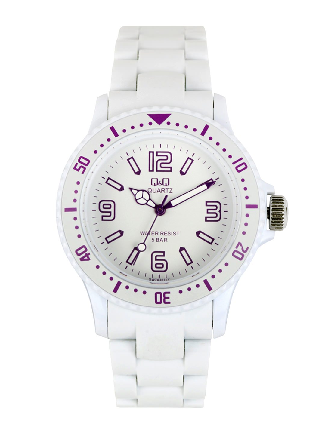 Buy Q&Q Men White Dial Watch at Rs.1101