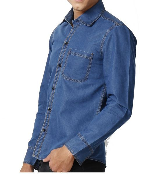Buy Blue Denim Shirt at Rs.399