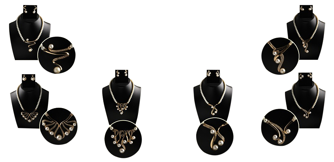 Set of 6 Fresh Water Pearl at Rs.1299