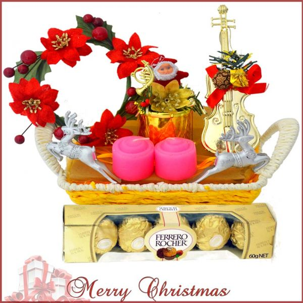 Buy Christmas Decoratives Basket at Rs.675