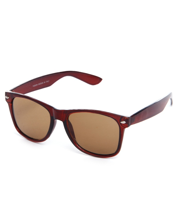 Buy Davidson Mauve Unisex Wayfarers at Rs.249