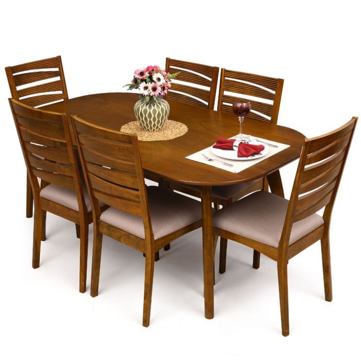 Buy Fab Home Rainbow Dining Table at Rs.41999