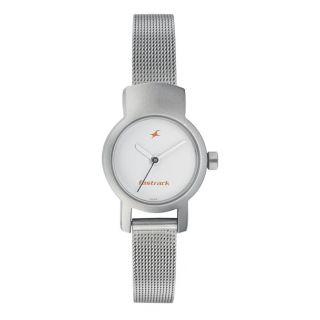 Buy Fastrack Female Silver Watch at Rs.1360