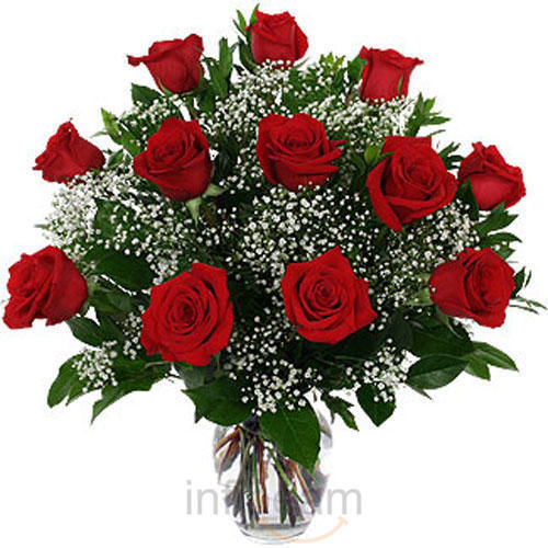 Buy Red Roses Vase at Rs.903