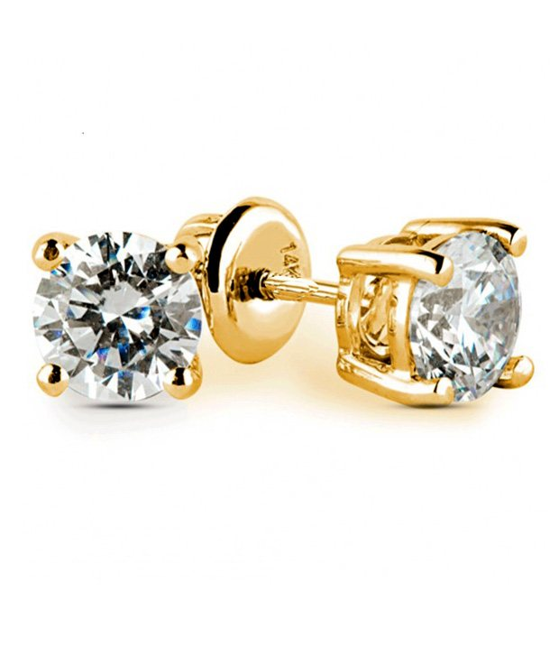 Buy Sanskruti Classic Diamond Studs at Rs.7176