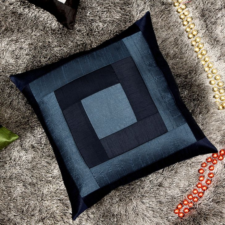Buy Home Story Blue Cushion Cover at Rs.149