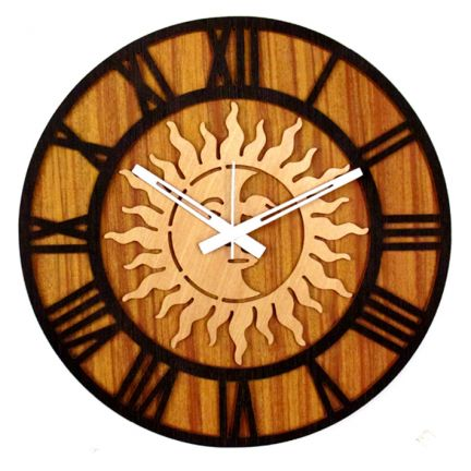 Klok Sun Wall Clock at Rs.679