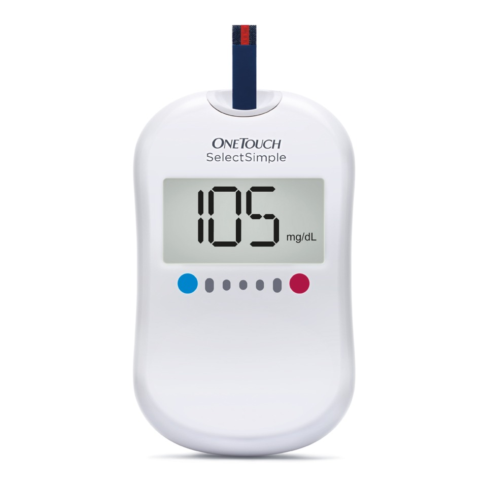 One Touch Simple Glucose Meter at Rs.745