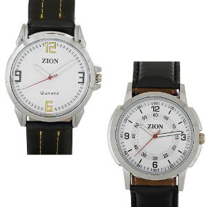 Zion Men Watch Combo at Rs.599