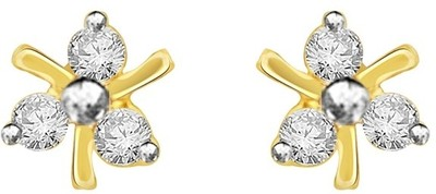 Diti Jewellery Gold Stud Earring at Rs.9240