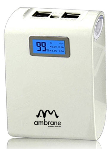 Ambrane Power Bank P-1000 at Rs.1519