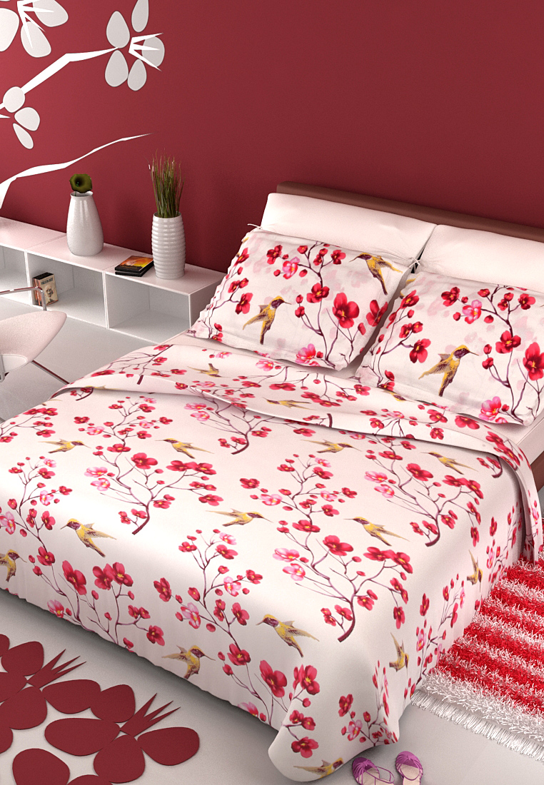 Bombay Dyeing Bed Sheet Set at Rs.899