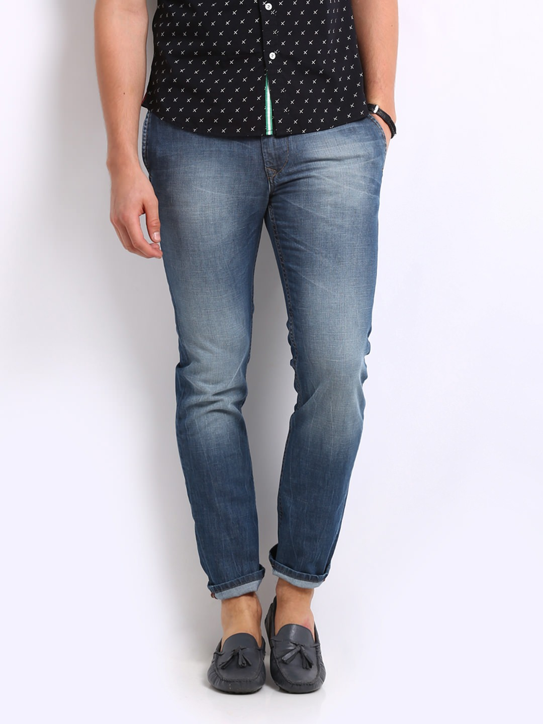 HRX Men Blue Jeans at Rs.1199