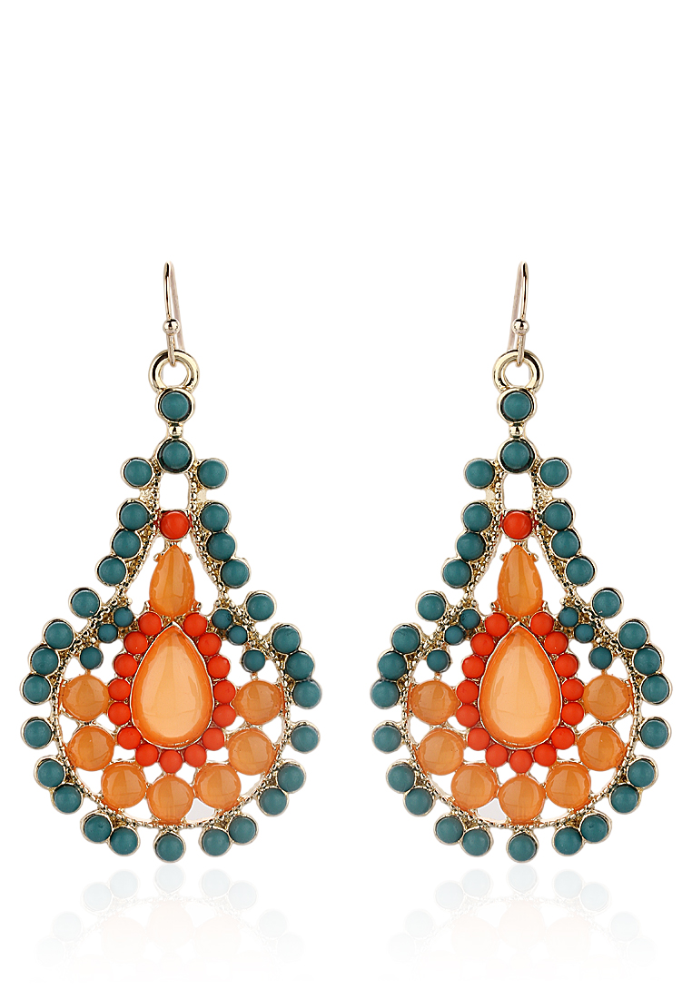Buy Sangria Orange Earrings at Rs.300