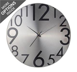 Stainless Steel Wall Clock at Rs.299