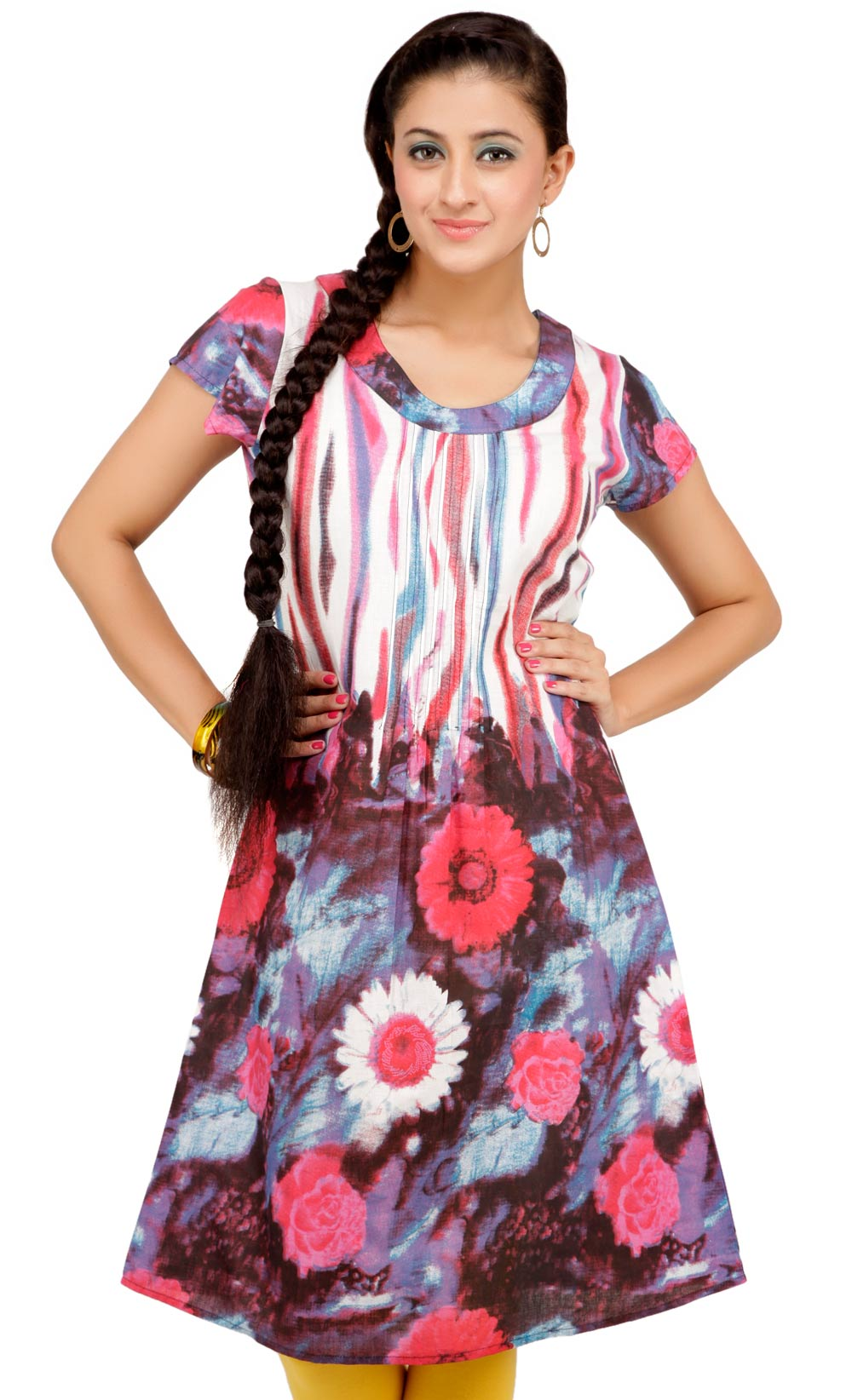 Ayaany Cotton Women Kurti at Rs.359