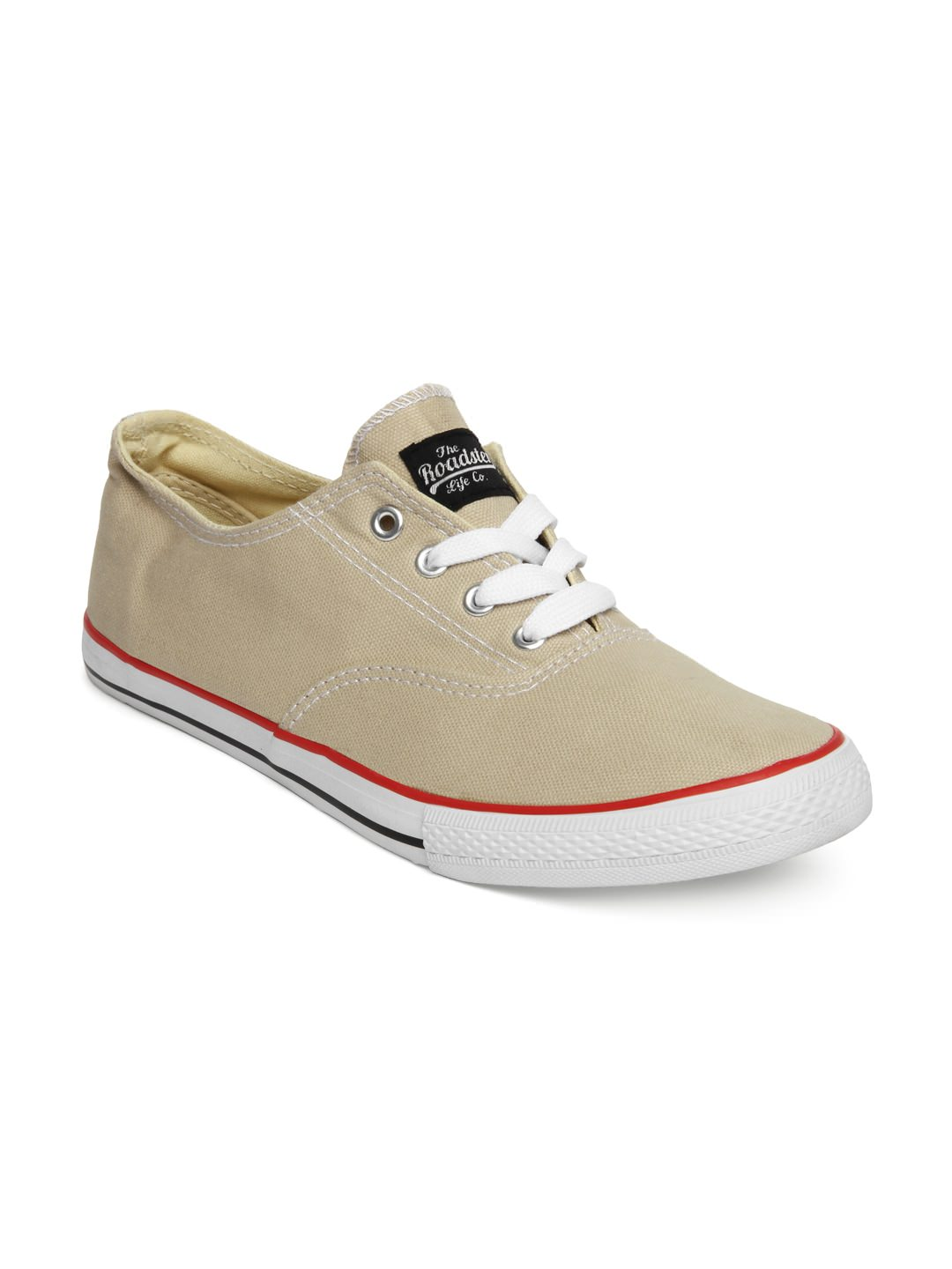 Roadster Beige Casual Shoes at Rs.719