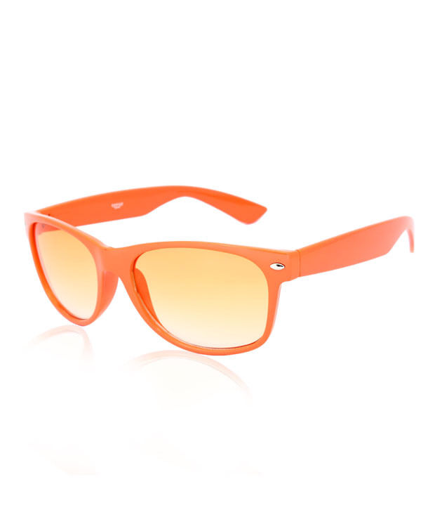 Creed Orange Wayfarer Sunglasses at Rs.299