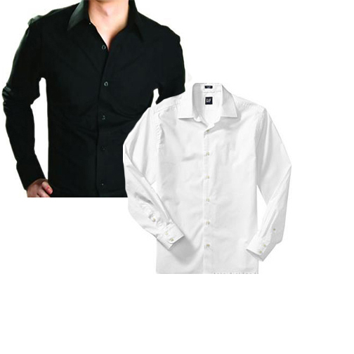Black & White Combo Shirt at Rs.625