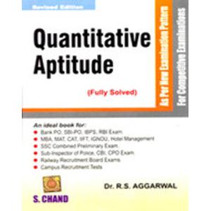 Buy Quantitative Aptitude Book for Rs.375