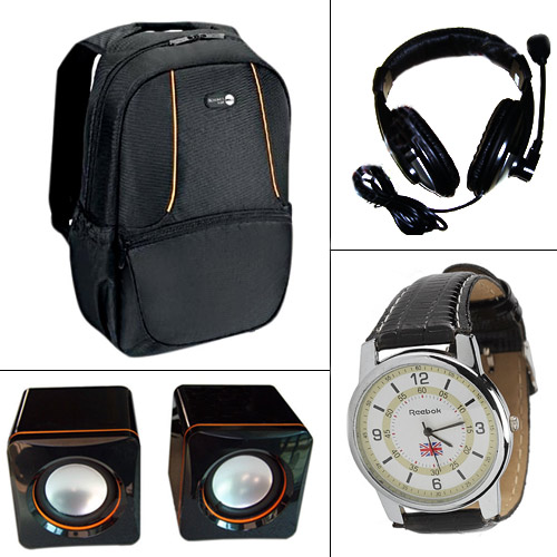 Combo of Laptop Backpack + Headphones at Rs.999