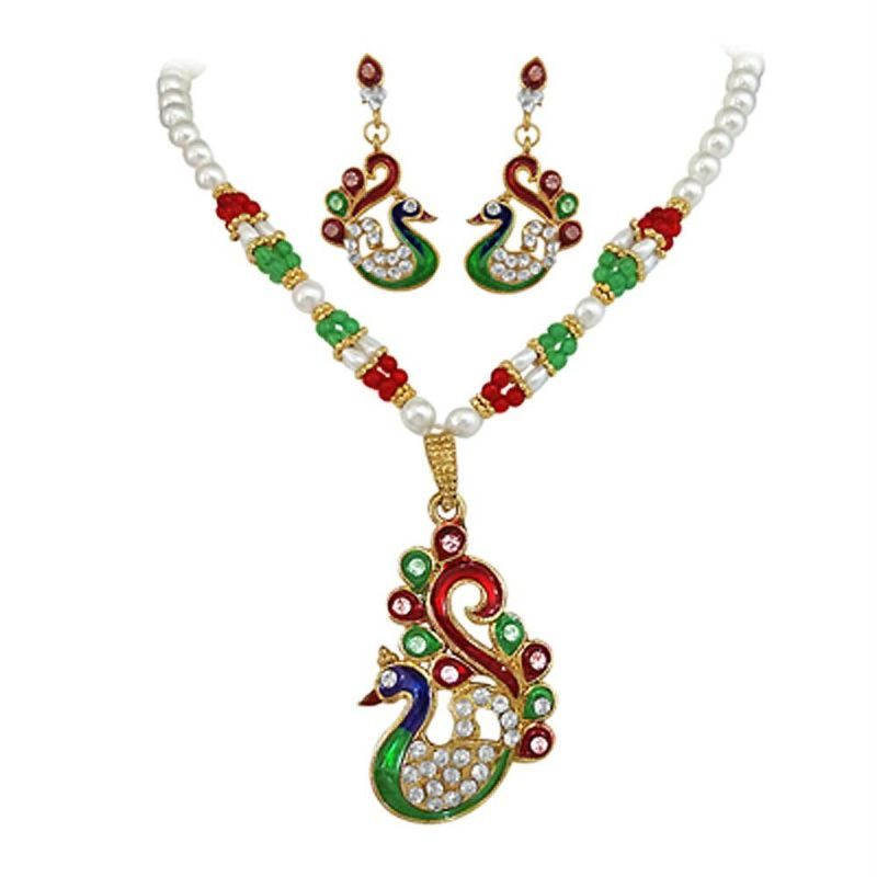 Surat Diamonds Fashion Jewellery Set at Rs.399