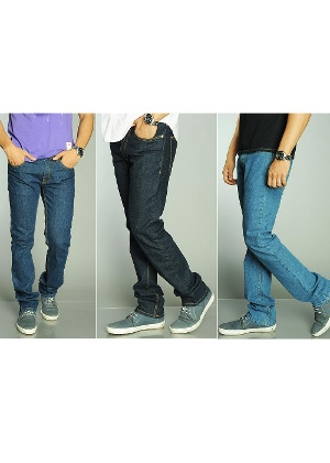 Trendy Denim Tripack at Rs.2299