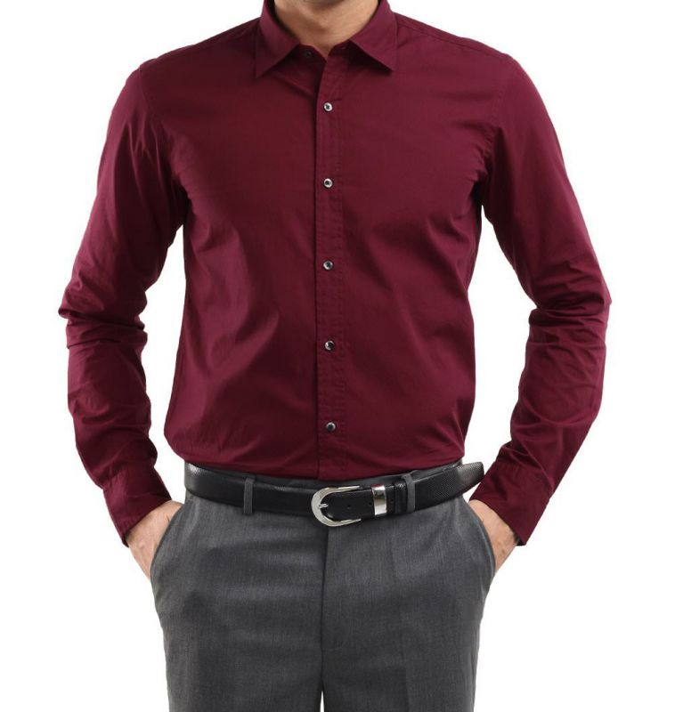 Stylish Maroon Shirt at Rs.299