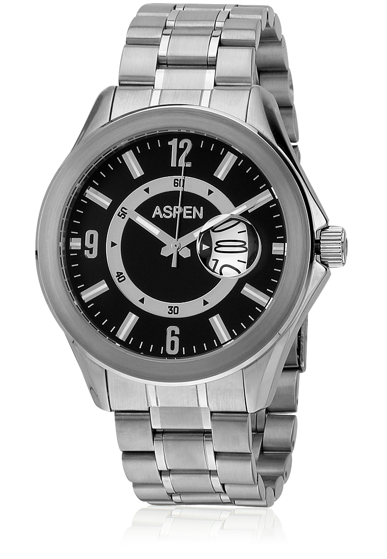 Buy Aspen Silver Analog Watch at Rs.4057