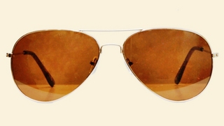 MTV Golden Aviator Sunglasses at Rs.419