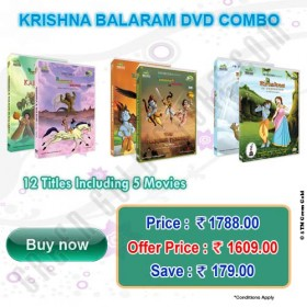 Buy Krishna Balram DVD combo at Rs.1609