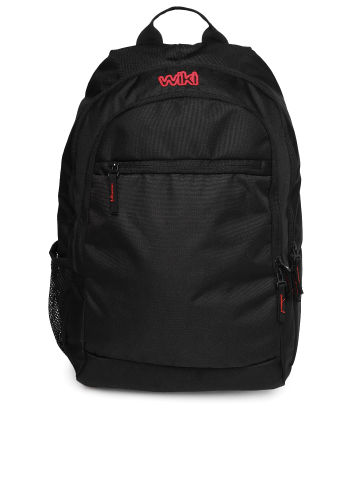Buy Wildcraft unisex black backpack at Rs.1099